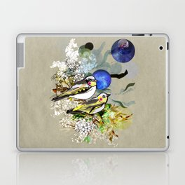 Yellow Birds Laptop & iPad Skin