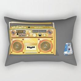 Droid Ghettoblaster Boombox Rectangular Pillow