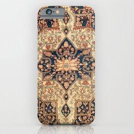 Ferahan  Antique West Persian Rug Print iPhone Case