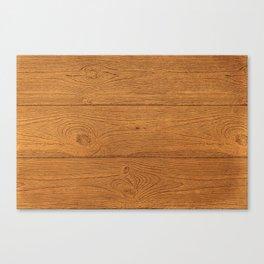 The Cabin Vintage Wood Grain Design Canvas Print