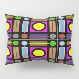 Art Deco Grid Pillow Sham