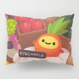 Pineapple NANA in the market Pillow Sham