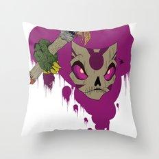#^$&ing Voodoo Magic Throw Pillow
