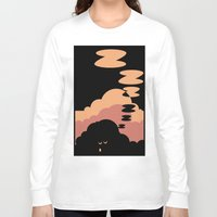 cloud Long Sleeve T-shirts featuring Cloud by Herber Crispin