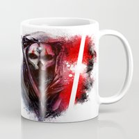 darth Mugs featuring Darth Nihilus by Vincent Vernacatola
