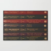 narnia Canvas Prints featuring A Narnia Journey by Shawn King