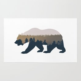 Forest Bear Rug
