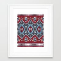 ethnic Framed Art Prints featuring Ethnic  by Judy Csotsits