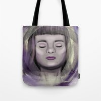 ace Tote Bags featuring Ace by erikakettle