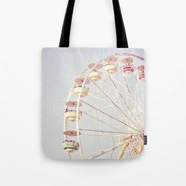 Vintage Ferris Wheel Tote Bag