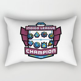 Indigo League Champion - Blue Version Rectangular Pillow