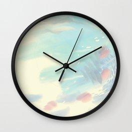 Cloudy Mindscape Wall Clock