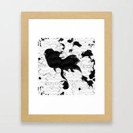 FISH PARADISE Framed Art Print