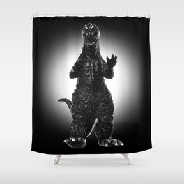 Noirzilla Shower Curtain