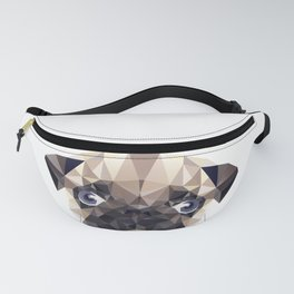 Pug Diamonds Fanny Pack