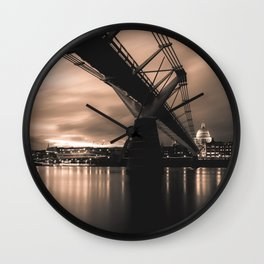 Millennium bridge Wall Clock