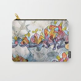 Splashes Of Stained Glass by CheyAnne Sexton Carry-All Pouch