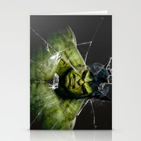 targaryen Stationery Cards featuring Angry HULK  by bimorecreative