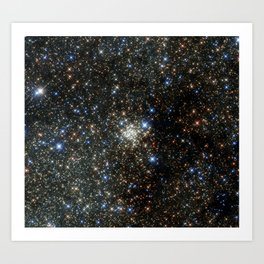 Hubble Peers into the Most Crowded Place in the Milky Way Art Print