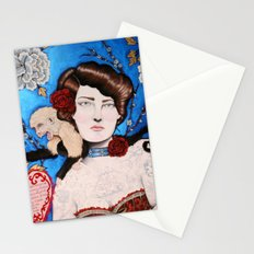 Augusta -- The Tattooed Lady Stationery Cards