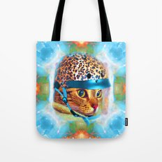 Safety First!-Lady Jasmine Tote Bag