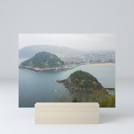 La Concha Beach, San Sebastian - Donostia-San, Spain II Mini Art Print
