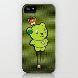 Green Dead Bear iPhone Case