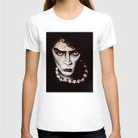 "rocky horror picture show T-shirts featuring Rocky Horror Picture Show ""Sweet Transvestite"" by Kristin Frenzel"