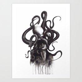 LE PIEUVRE Art Print