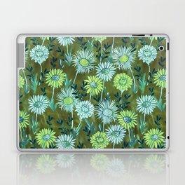 Gillian Floral Green Laptop & iPad Skin