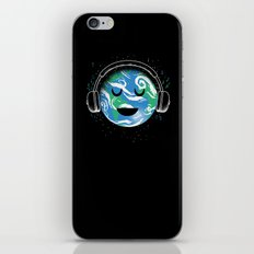 The whole planet loves music iPhone & iPod Skin