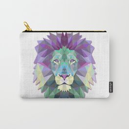 Colorful Lion Carry-All Pouch
