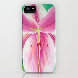 Jane's Lily iPhone Case