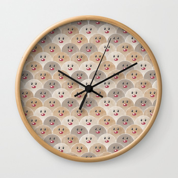 Down to Earth Wall Clock