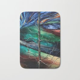 """Spring in Clinton"" Painting Bath Mat"