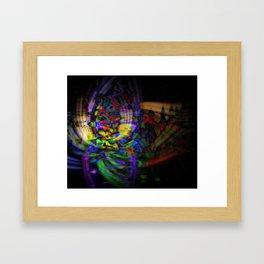 Lucky Seven Framed Art Print