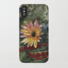 Vibrant Blossom iPhone X Slim Case