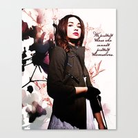 code geass Canvas Prints featuring Code by Amy Mancini