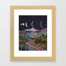 Multiverse Similarities Framed Art Print