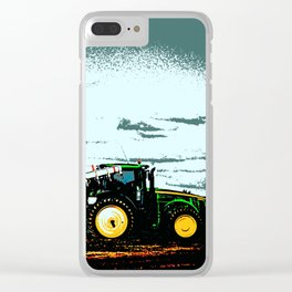 Tractors 7684 Clear iPhone Case