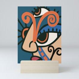 Aries Abstract Illustration Mini Art Print