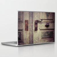 door Laptop & iPad Skins featuring door by Deviens