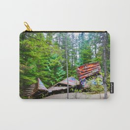 whistler train wreck, 2017 Carry-All Pouch