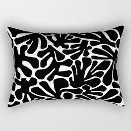 The Cut Outs // B&W Rectangular Pillow