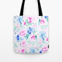 Scattered Lovers Pink Tote Bag