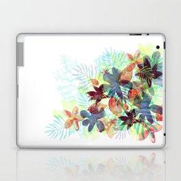 Acqua Floral Laptop & iPad Skin