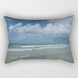 Dramatic Sky Over Litchfield Beach Rectangular Pillow
