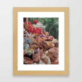 Fresh Florals Framed Art Print