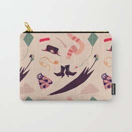 Practically Perfect Pattern Carry-All Pouch