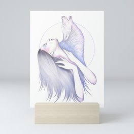 Wolves In You Mini Art Print